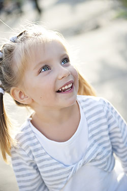 Girl in Pigtails - Pediatric Dentist in Jackson, New Jersey